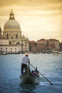 when in venice... The Grand Canal, Italy