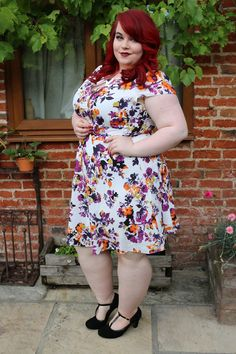 9273dc6dd46 Curvissa Floral Summer Tea Dress - She Might Be Loved
