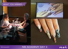 Day 2 of our NSI Academy held in Orlando, FL from June 1-3rd 2016! This event hosted training workshops from top Nail technicians and NSI educators.