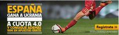 el forero jrvm y todos los bonos de deportes: betfair España gana Ucrania cuota 4 Euro 2016 mas ...