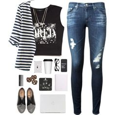 Bored - Polyvore (polyvore on we heart it)