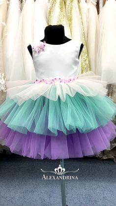 Baby Pageant Dresses, Baby Girl Party Dresses, Birthday Girl Dress, Little Girl Dresses, Baby Dress, The Dress, Flower Girl Dresses, Kids Dress Wear, Kids Gown