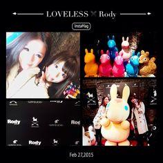 Instagram media haruka._.u - LOVELESSのローンチパーティーいてきたよ^o^  #LOVELESS#Rody #30th#anniversary#launch#party#love#model#dj#tgif#tokyo#aoyama #ラブレス#ロディ#30周年#ローンチ#パーティー#おかわ#東京#青山 #そこかしこにRodyいた♡