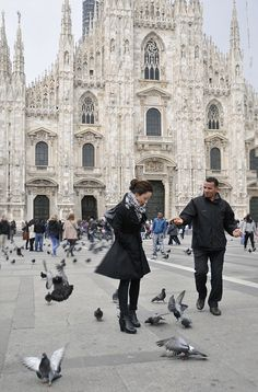 Milan's Cathedral Duomo, region Lombardy, Italy http://milan.visitbeautifulitaly.com/ #travel