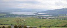 Pohľad na Oravskú priehradu * View of the Orava dam