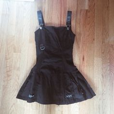 Tripp NYC Mortal Instruments Clary Dress Black Limited Edition Clary Dress from the Tripp NYC Mortal Instruments: City of Bones movie inspired collection. Bought from Hot Topic. Has faux leather straps and accents around the dress along with pleats and spikes. Also has rune detailing. Size XS. Worn only once, Like New condition. From a smoke free, pet free home. Make an offer or ask questions! :) Tripp nyc Dresses Mini