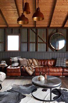 De granja a casa de vacaciones de estilo rústico con encanto · From old barn to holiday retreat in rustic style