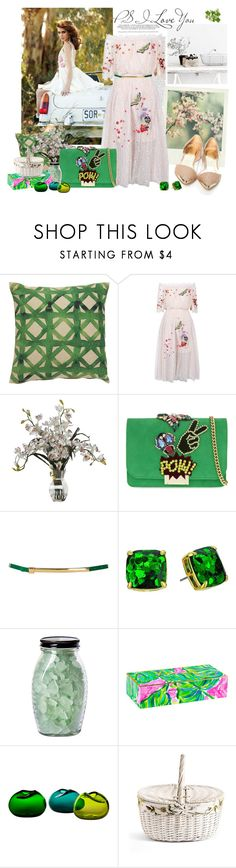 """Untitled #552"" by moni4e ❤ liked on Polyvore featuring Oris, Polaroid, Jaipur, Temperley London, GEDEBE, Topshop, Kate Spade and Lilly Pulitzer"