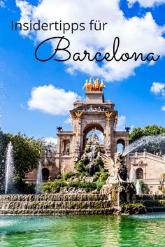 The best Barcelona tips for your vacation Vacation guru - Let& go to the Catalan city of Barcelona! With these tips, your trip will be perfect. Barcelona Spain Travel, Barcelona City, Places To Travel, Places To See, Travel Around The World, Around The Worlds, Seville Spain, Tenerife, Tutorial