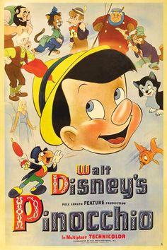 Pinocchio (1940)  My favourite animated movie.