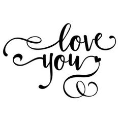 Silhouette Design Store - View Design love you phrase Silhouette Design, Silhouette Cameo Projects, Abc Letra, 3d Templates, Brush Lettering, Vinyl Projects, Word Art, Cricut Design, Graffiti