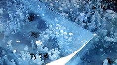 frozen air bubbles