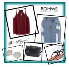 """""""ROMWE - 13/10"""" by thefashion007 ❤ liked on Polyvore"""