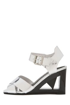 Jeffrey Campbell Shoes ALLUDE New Arrivals in Silver
