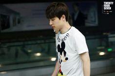 D.O | EXO | Taipei airport to Incheon 07.13.2014