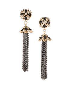 Tassel Drop Earrings -