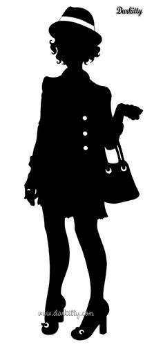 Nouvelles silhouettes | Darkitty illustratrice freelance