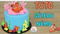 •♡• Venez apprendre à décorer votre gateau cake design sur le thème magique de Némo ! La décoration en pâte à sucre n'aura plus de secrets pour vous ! Un tut...