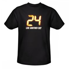 24 Live Another Day Logo T-Shirt