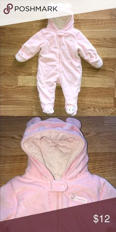 Carter's Baby Girl Snow Suit Great condition and super soft Carter's Jackets & Coats
