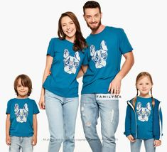 Matching Funny Family Outfit, Matching Pug Tshirts, Matching Dog Tees, Family Holiday Outfit, Matching Lounge Set, Comfy Outfit, Family Gift Funny Family, Family Humor, Family Holiday, Family Gifts, Couple Pajamas, Comfy Outfit, Matches Fashion, Matching Family Outfits, Holiday Outfits