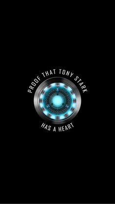 proof that tony stark has a heart