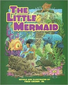 Fairytale Books by Fred Crump Jr. African American The Little Mermaid