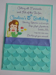 Partylicious: {Mermaids Under the Sea Birthday}love scallop details