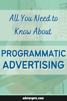Learn about the definition of #ProgrammaticAdvertising in this post. Display Advertising, Display Ads, Online Advertising, Advertising Campaign, Advertising Ideas, Creative Advertising, Advertising Design, Advertising Strategies, Digital Marketing Strategy
