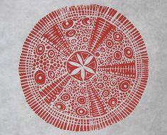 sea urchin van nancydesmondbrown op Etsy, $25.00