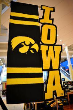 B.A. Iowa Hawkeyes flag