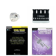 Items similar to Trumpet Music Academy Advancement pack -Trumpet Embouchure Tool; Adjustable Hand Exerciser + (Star Wars Music Book Bundle) on Etsy Trumpet Accessories, Star Wars Music, Trumpet Music, Trumpet Players, Movie Themes, Teaching Tools, Stars, Books, Libros