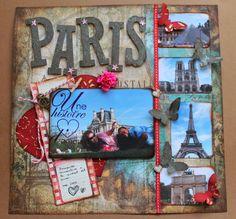 Jardinet de paper: Layout para el día de San Valentín