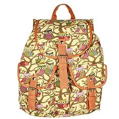 Your Gallery Girls Elegant Retro Owl Print Backpack Rucksack Shoulder Hand School Bag, beige Your Gallery http://www.amazon.com/dp/B00M2PRL1W/ref=cm_sw_r_pi_dp_3i5Cwb0HVV3HJ