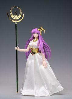 Saori Kido (Deusa Athena) - Cloth Myth: Cavaleiros do Zodíaco    www.lannokastore.com