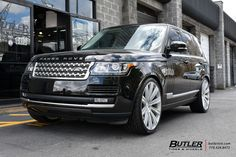 Land Rover Range Rover with Avant Garde AGL-Vanguard Wheels exclusively from Butler Tires and Wheels in Atlanta, GA - Image Number 10885 My Dream Car, Dream Cars, Range Rover Car, Ford Explorer, Pickup Trucks, Butler, Landing, Atlanta, Wheels