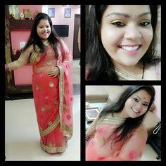 Diwali 2016... Happy goverdhan pooja today guys... #hercreativepalace #kanikasharma #festive #festivals #indianfestivals #festiveseason #goverdhanpooja #diwali #lookoftheday #traditional #saree #makeup #selfie #allset #festivemoodon #festivity #ethnic #traditionaldress #girly #beautifulday #diwali2k16 #loadsofwishes #blogger #youtuber #delhi #india