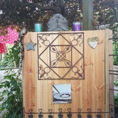 Mijn tuin altaar #altaar #peace #boedha