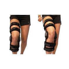 """EA/1 - Dynamic Left Knee Brace, X-Large 23-1/2"""" to 26-1/2"""" Thigh Circumference, Strong, Lightweight Composite Frame"""