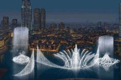 The Stunning Fountains of Dubai (2010).