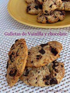 Galletas de Vainilla y Chocolate  | Milicocinillas