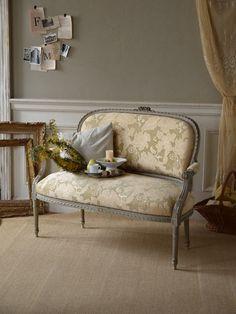 アンティーク家具> Sofa Bench, Sofa Chair, Couch, Bellisima, Antiques, Furniture, Home Decor, Antiquities, Settee