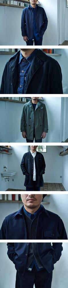 Introducing Japanese brand orSlow featuring Shirts, Longsleeve Shirts and Pants on Nuji.com #Orslow #shirts #longsleeveshirts