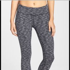 """Zella live in leggings full length These are full length not the cropped ones.In excellent condition worn only a few times.Too big on me now.29"""" inseam; 8 1/2"""" leg opening; 10"""" front rise; 13 1/2"""" back rise  Hidden waistband pocket stashes cash or a key. Smooth flatlock seaming won't rub or irritate. Four-way stretch fabric offers maximum stretch for a wide range of motion. Moisture-wicking fabric dries quickly to keep you cool and comfortable. Zeltek Ultimate Stretch fabric…"""