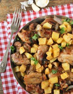 Pollo rustido con ajos y perejil - L´Exquisit