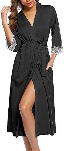 undercover lingerie Ladies Soft Fleece Warm Traditional Button Bed Jacket Nightwear Gown