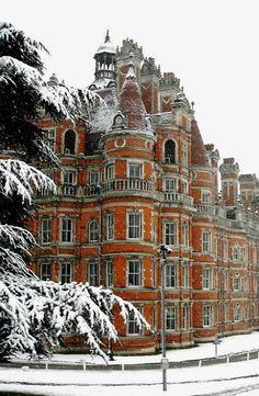 Royal Holloway University of London, Surrey, England, UK