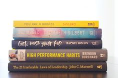 5 Must Reads For The Female Entrepreneur — According To D Big Magic Elizabeth Gilbert, Books To Read, My Books, Books On Tape, Entrepreneur Books, After Story, Rachel Hollis, Habits Of Successful People, Everything About You