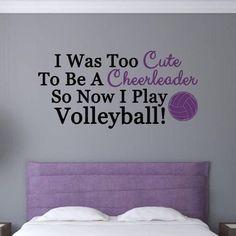#volleyball #true #nocheerleader #bed #sweat #dreams