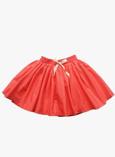 Vierra Rose Vienna Gathered Skirt in Coral